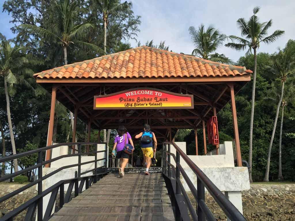 Sisters Islands Marine Park in Singapore
