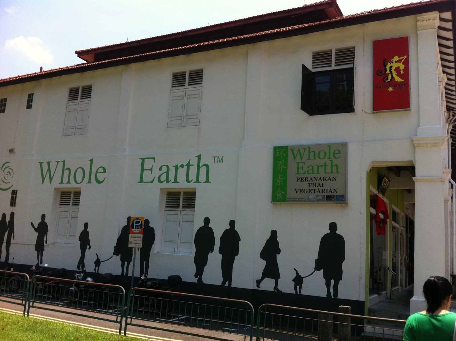 whole earth singapore