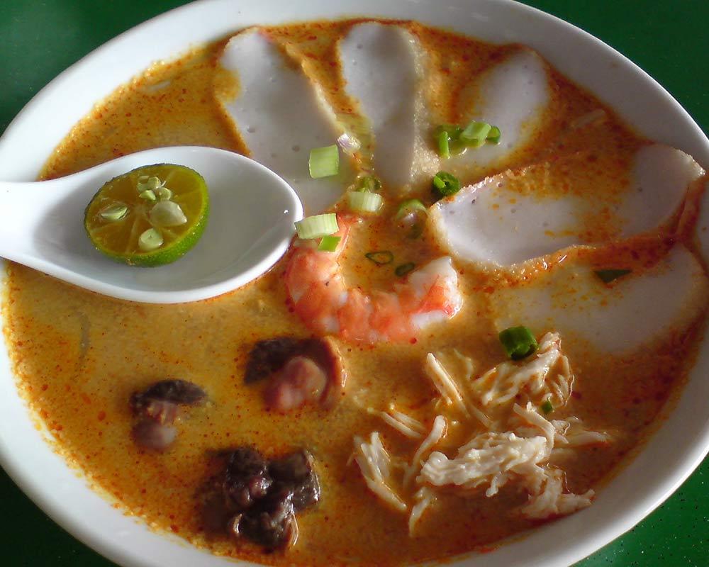 singapore food laksa