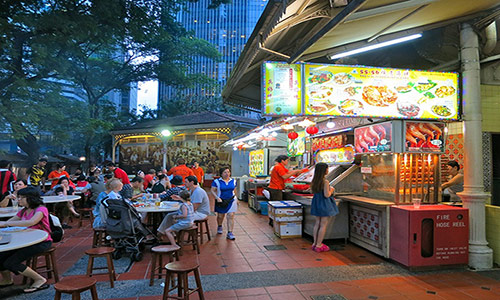 Food Singapore Street Image