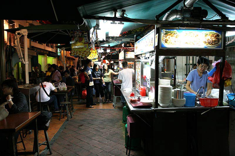 Hawker Stall Singapore Image