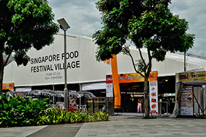 Singapore Food Festival Village Image
