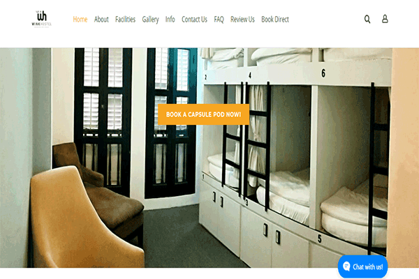 Wink Hostel Singapore Image