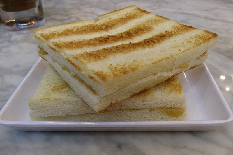 Kaya Toast Image